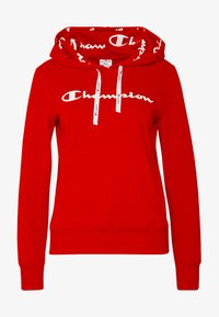 Champion - HOODED - Hoodie - red - 4