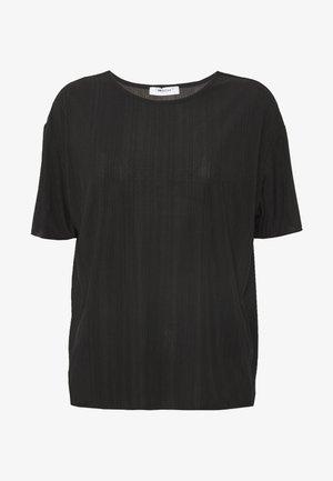 LINA TOP - Basic T-shirt - black