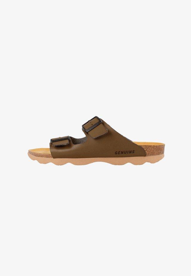 Sandals - khaki