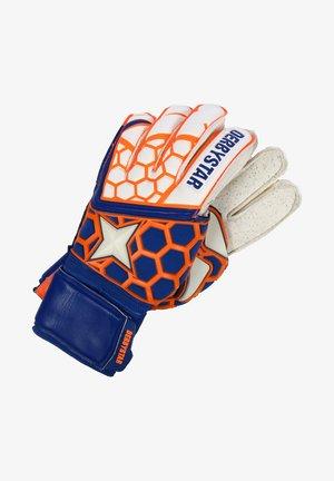 APS PROTECT - Goalkeeping gloves - weiß / orange / navy