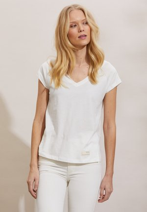 BETH - Basic T-shirt - light chalk