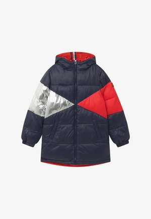 REVERSIBLE ICONIC PUFFER - Winter coat - blue