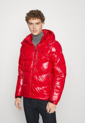 INSULATED - Down jacket - red glossy