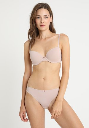BRA 2 PACK - Underwired bra - black/blush