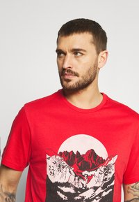 The North Face - NATURAL WONDERS TEE VINTAGE - Print T-shirt - rococco red - 3