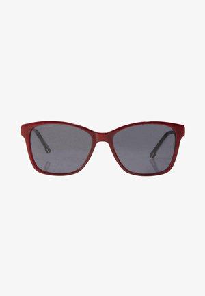 Sunglasses - dark red-pink