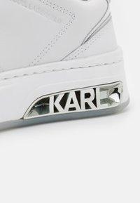 KARL LAGERFELD - ELEKTRA LAY UP - Trainers - white - 6