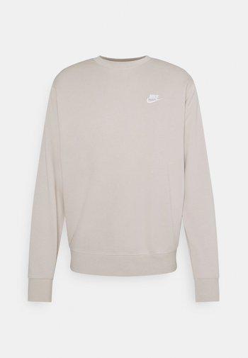 CLUB - Sweatshirt - cream/white