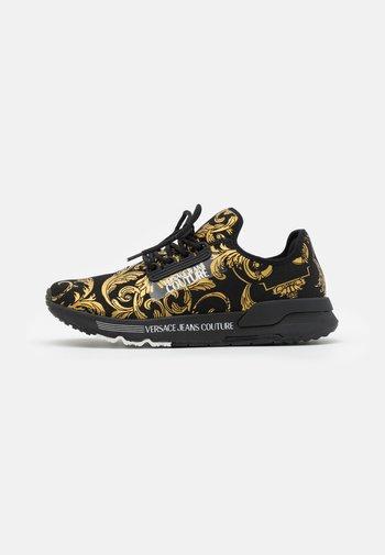 DYNAMIC - Sneakers basse - nero/oro