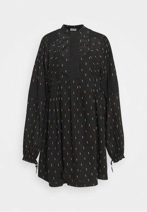 CLERE - Korte jurk - black