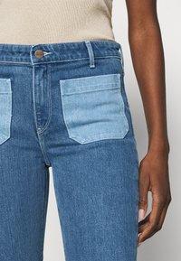 Wrangler - Flared jeans - light blue denim - 4