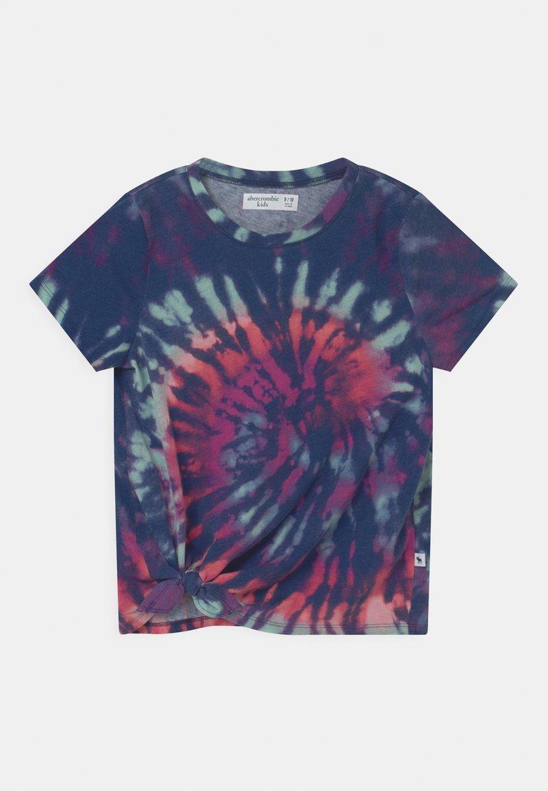 Abercrombie & Fitch - T-shirt print - blue