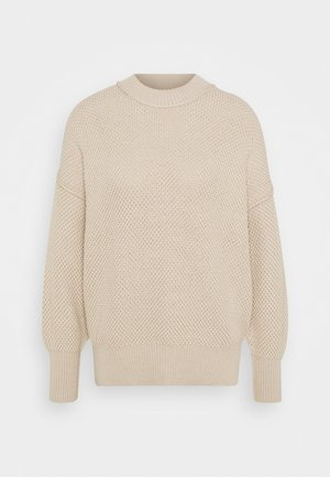 OVERSIZED - Jumper - doeskin