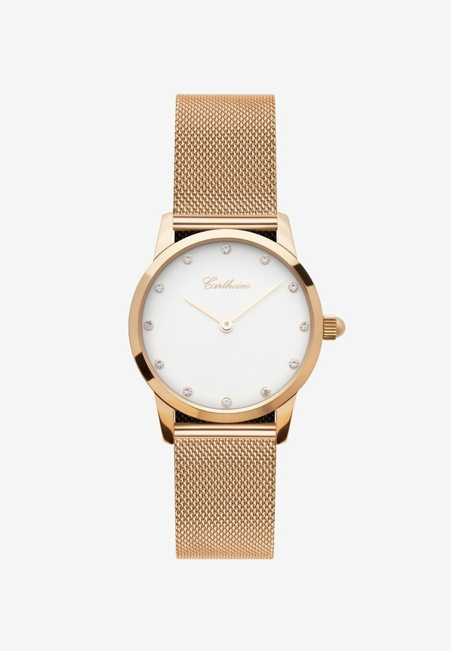 SOFIA 34MM - Rannekello - rose gold-white