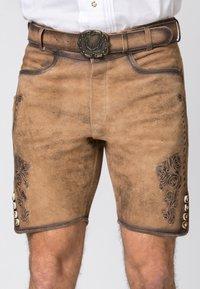 Stockerpoint - ALOIS - Shorts - brown - 4