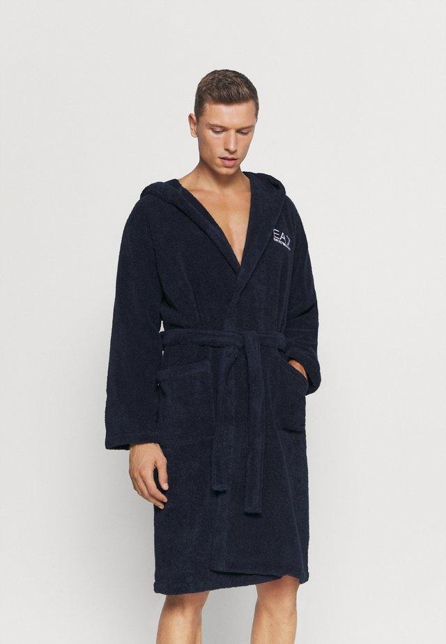 SEA WORLD CORE BATHROBE - Dressing gown - navy blue