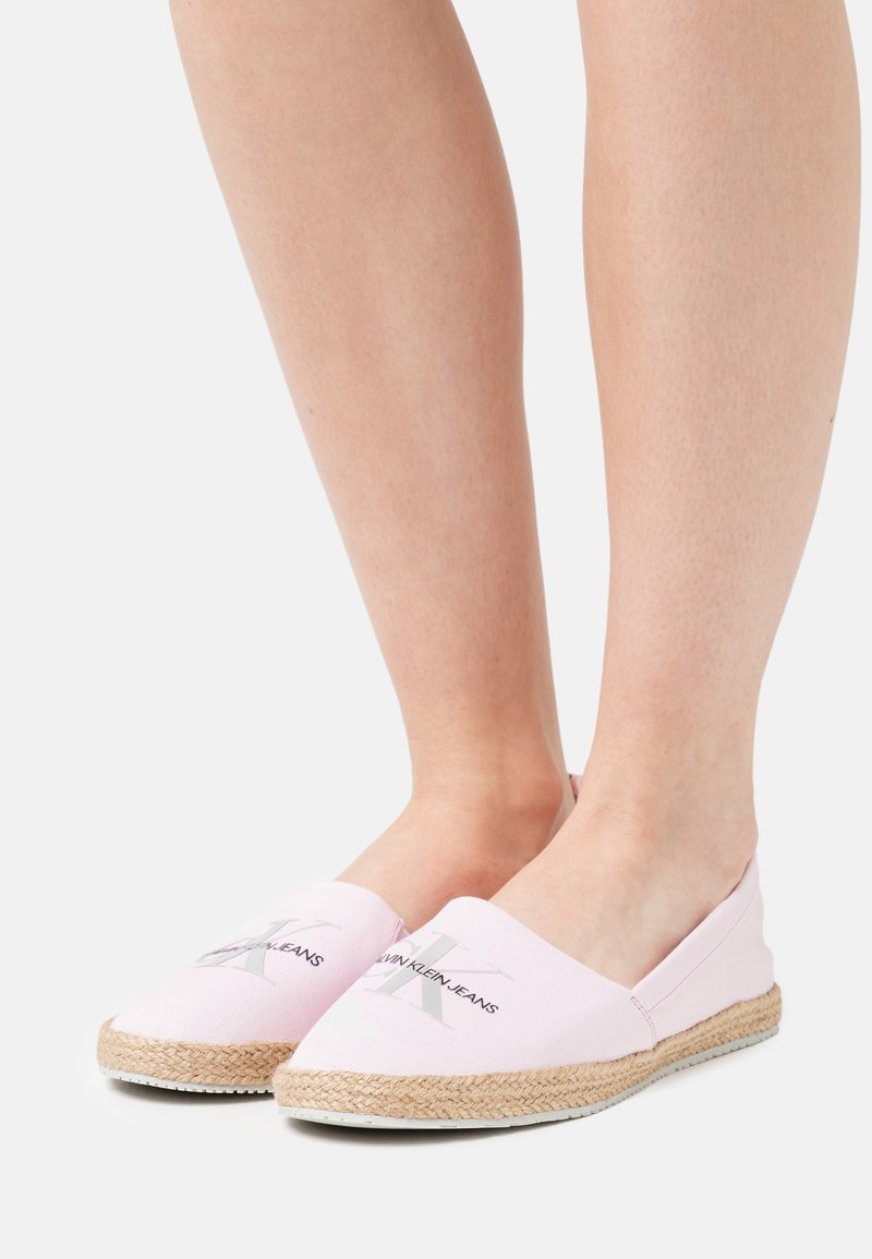 Calvin Klein Jeans - PRINTED  - Espadrilles - pearly pink
