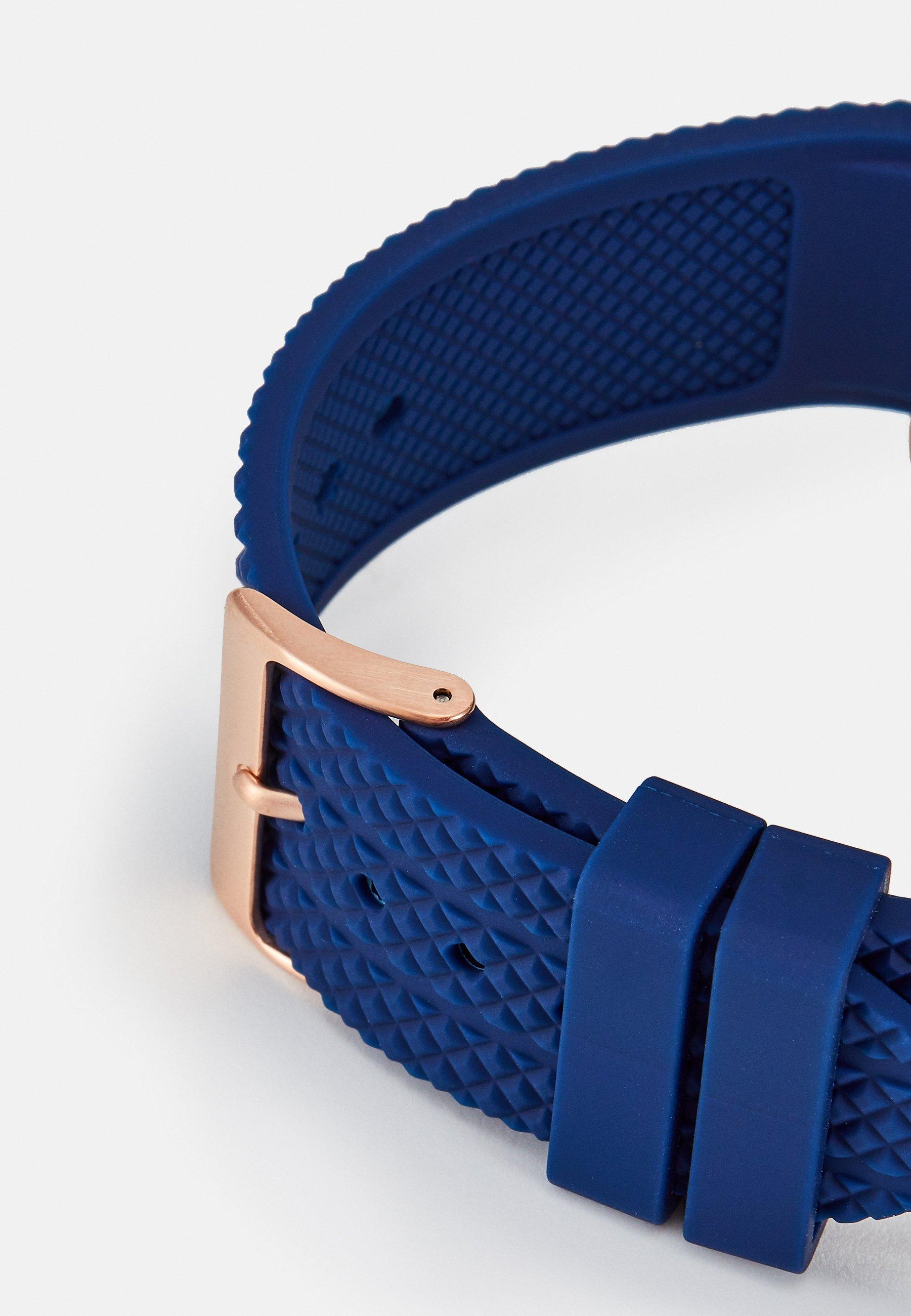 Guess Klokke - blue/sølv TtvNdgYGEhB23uW