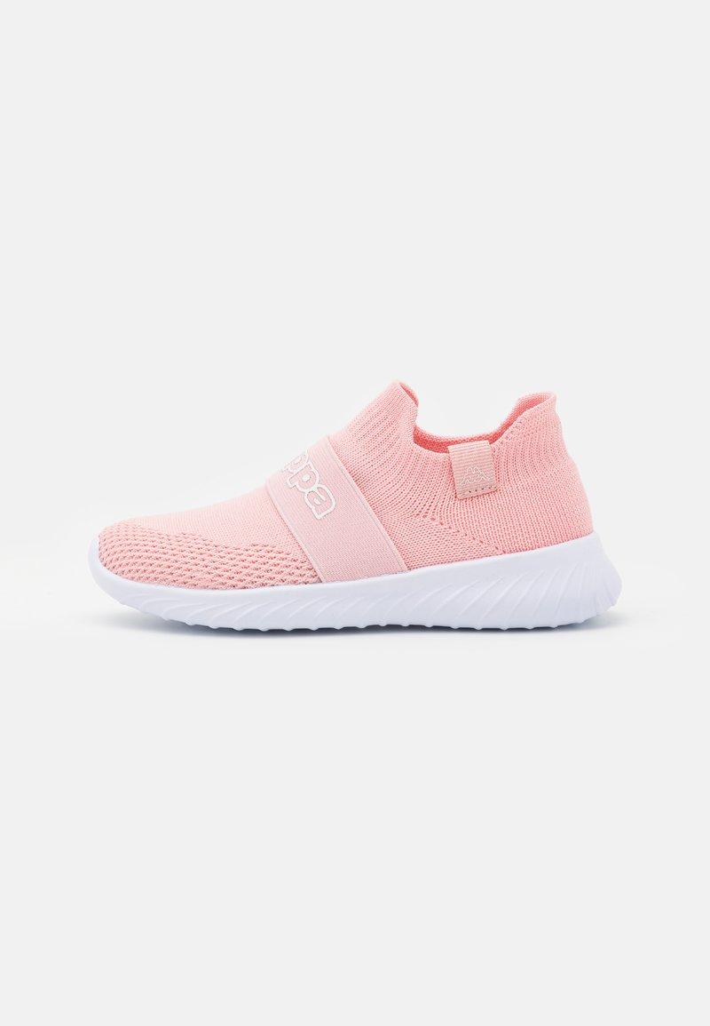 Kappa - PEC UNISEX - Sports shoes - rose/white