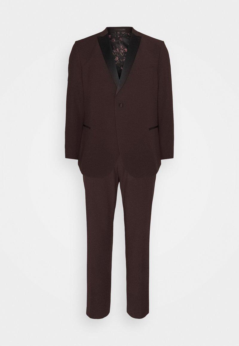 Isaac Dewhirst - THE TUX  - Suit - bordeaux