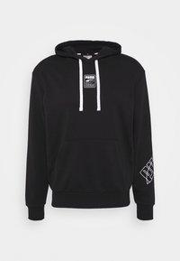 REBEL HOODIE - Sweatshirt - black