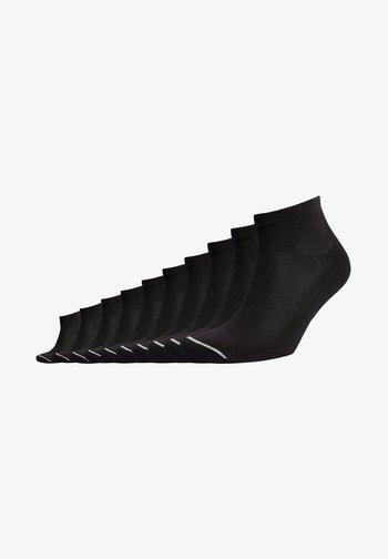 MID CUT SPORTS TEN PACK - Socks - black