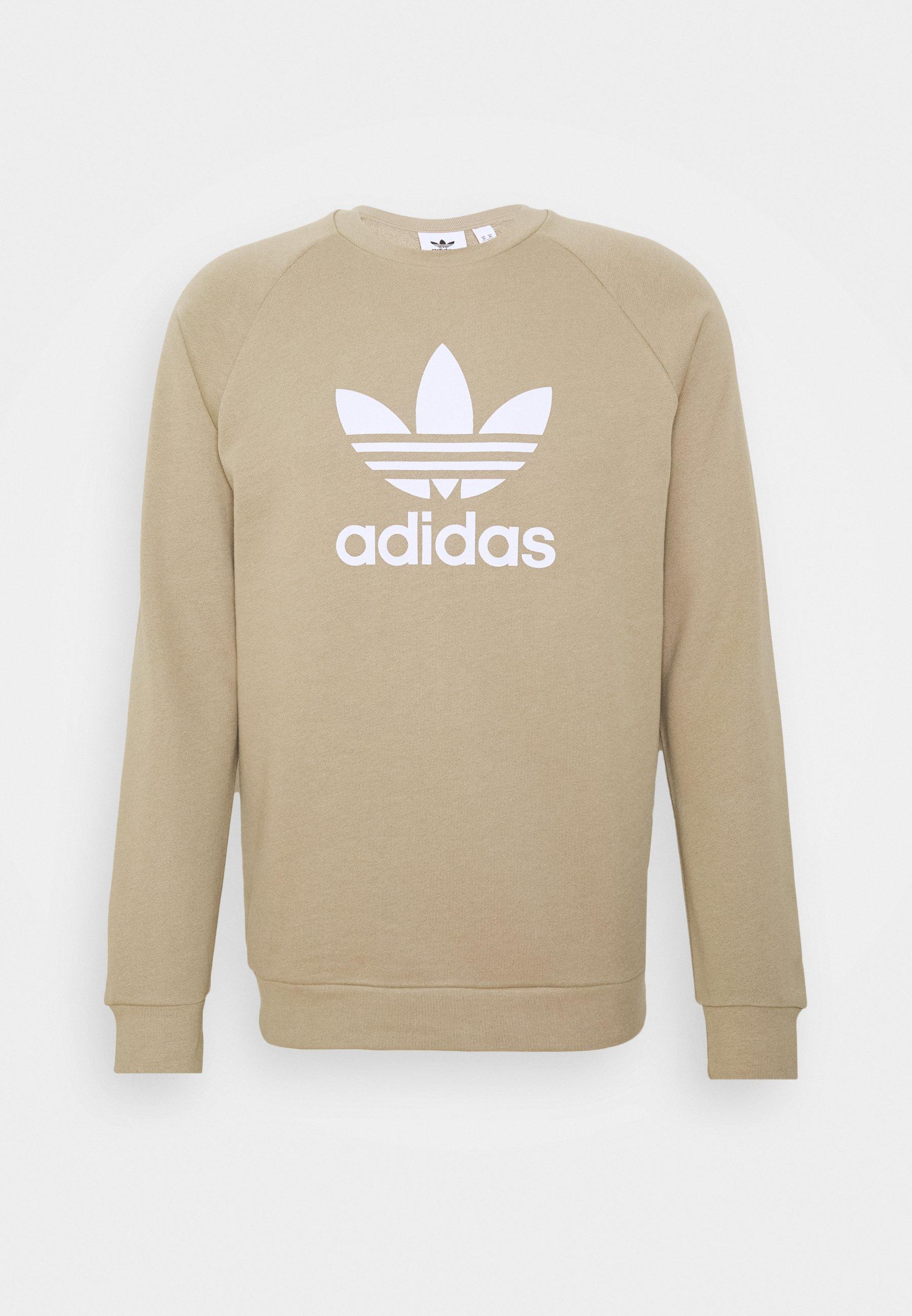 cuscús vacío Permuta  adidas Originals TREFOIL CREW UNISEX - Sweatshirt - trakha/olive - Zalando .de