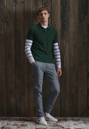 Polo shirt - willow green grit