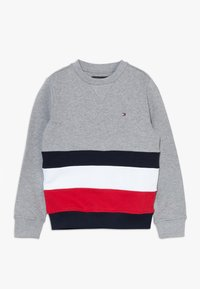 Tommy Hilfiger - GLOBAL STRIPE COLORBLOCK  - Sweater - grey - 0