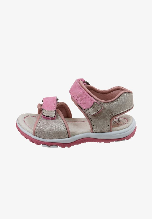 MIT KLETTVERSCHLUSS - Walking sandals - rosa