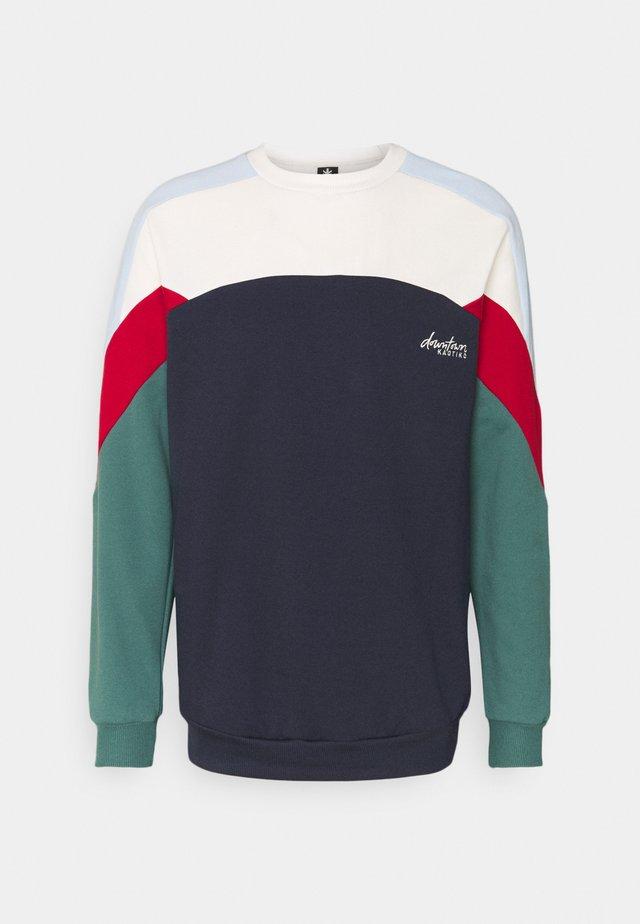 CREW DOWNTOWN UNISEX - Sweatshirt - marino