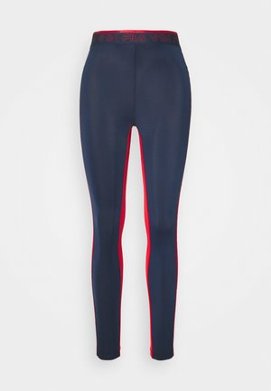 ALLA LEGGINGS - Collant - black iris/true red