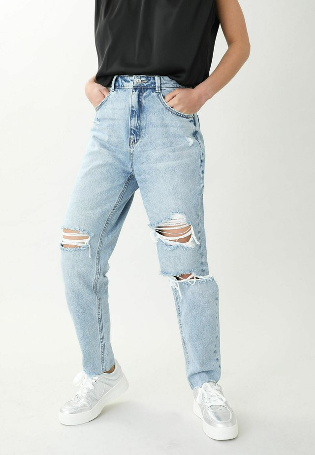Jeans a sigaretta - hellblau