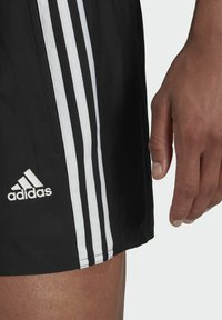 adidas Performance - 3 STRIPES CLASSICS PRIMEGREEN SWIM SHORTS - Swimming shorts - black - 2