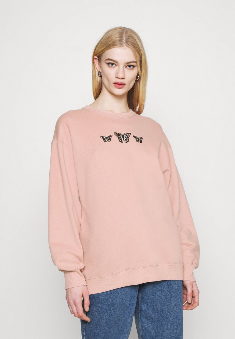 Hollister Co. - PUFF CREW - Sweatshirt - pink