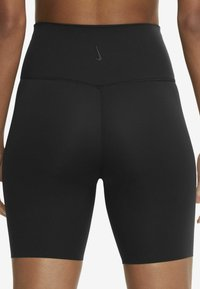 Nike Performance - YOGA LUXE SHORT - Leggings - black/dark smoke grey - 6