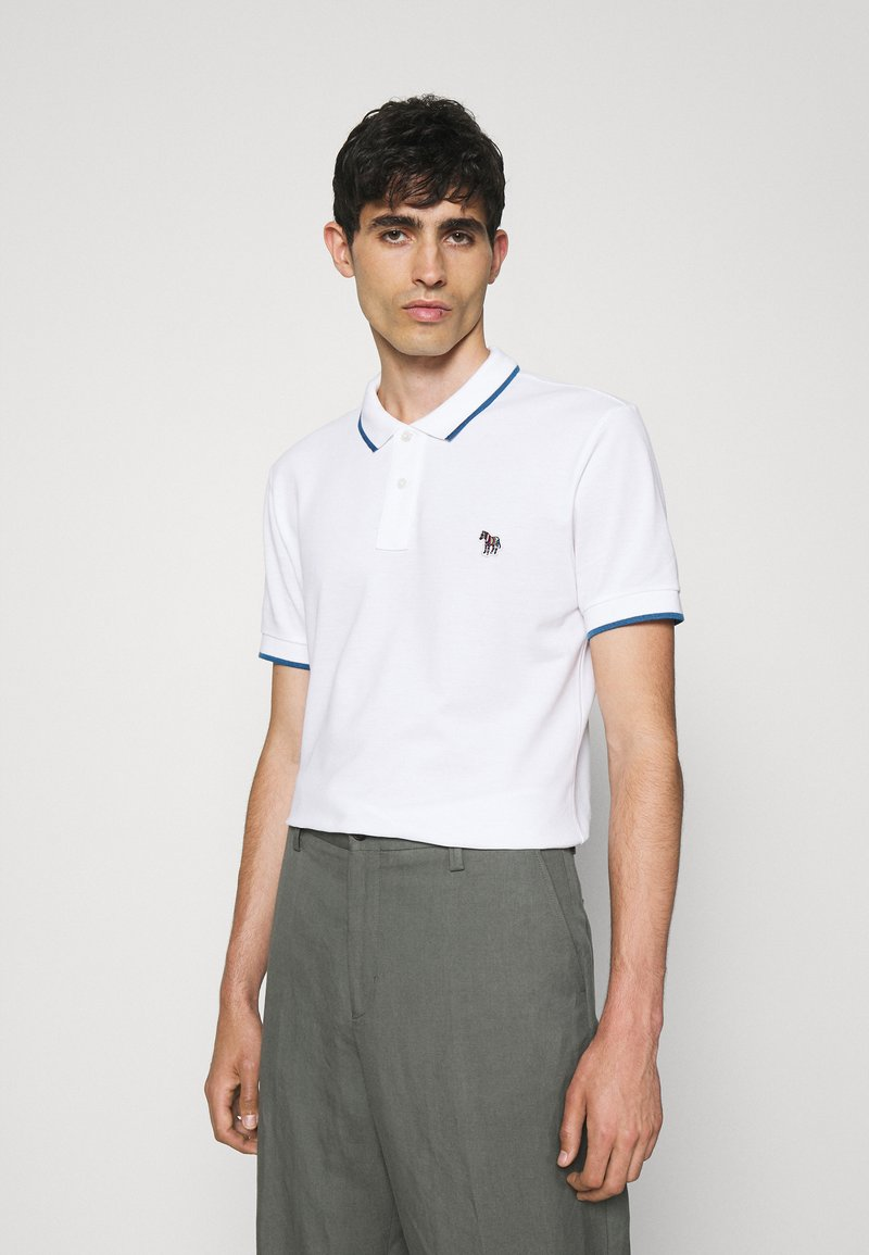 PS Paul Smith - SLIM FIT - Polo shirt - white