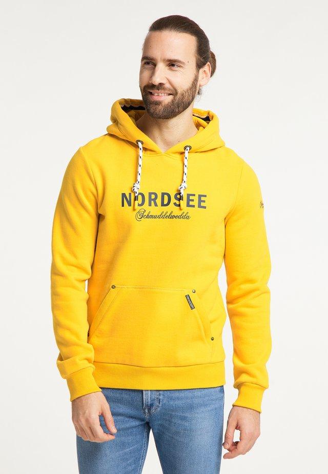NORDSEE - Mikina skapucí - senf