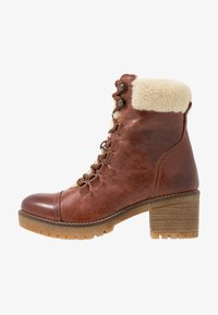 Apple of Eden - AMELIE - Lace-up ankle boots - brown - 1