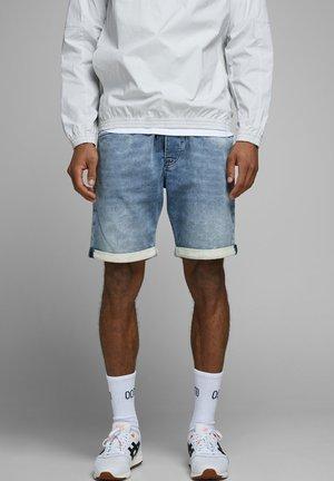 RICK - Jeans Short / cowboy shorts - blue denim