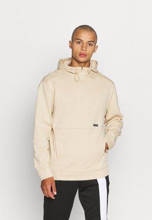 HALF ZIP - Sweatshirt - pebble