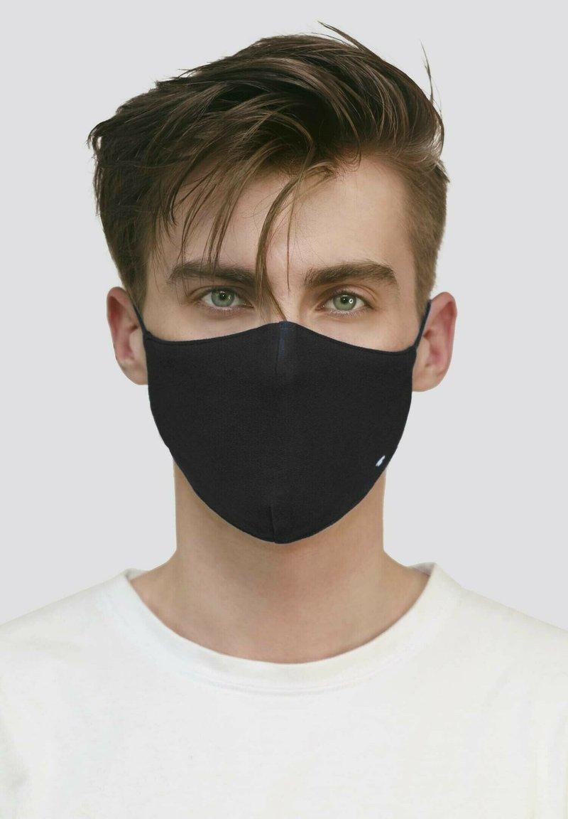 TOM TAILOR - 2 PIECE PACK - Maschera in tessuto - black