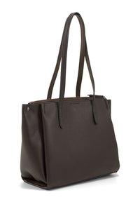 TOM TAILOR - Tote bag - dark brown - 1