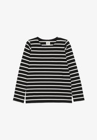 Mads Nørgaard - PABLO TASHINO  - Long sleeved top - black/white alyssum - 2