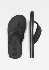 G-Star - LOAQ - T-bar sandals - black - 1