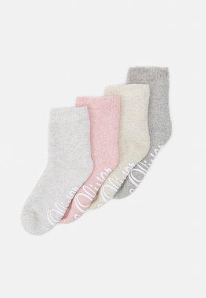 ONLINE ORIGINAL SOCKS 4 PACK UNISEX - Socks - rosé melange