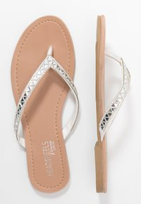 Head over Heels by Dune - LUCCII - T-bar sandals - white - 3