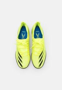 adidas Performance - X GHOSTED.3 TF - Kopačky na umělý trávník - solar yellow/core black/royal blue - 3
