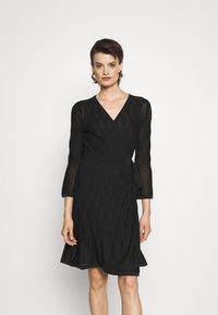 Diane von Furstenberg - AUDREY DRESS - Jumper dress - black - 0