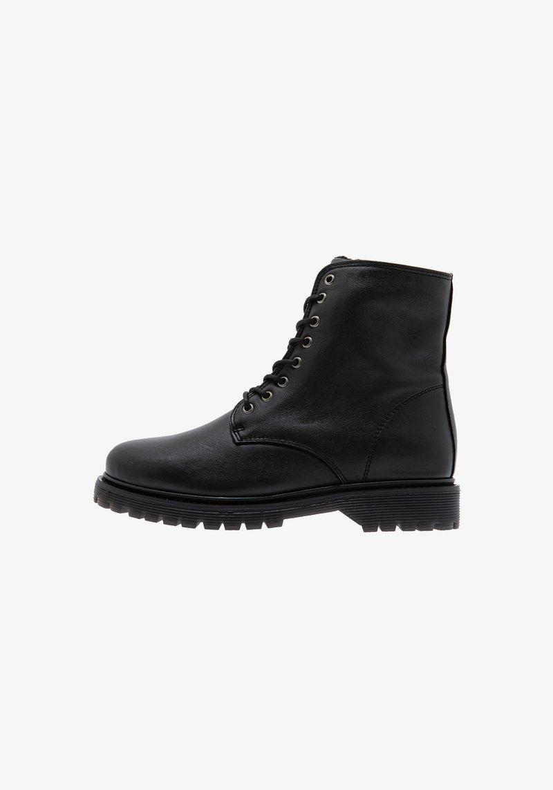Rosa Stern - SUNNY  - Cowboy/biker ankle boot - black